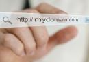 Выбираем наиболее удачное имя сайта