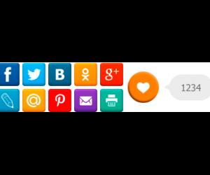 Кнопки для социальных сетей от iKnopo